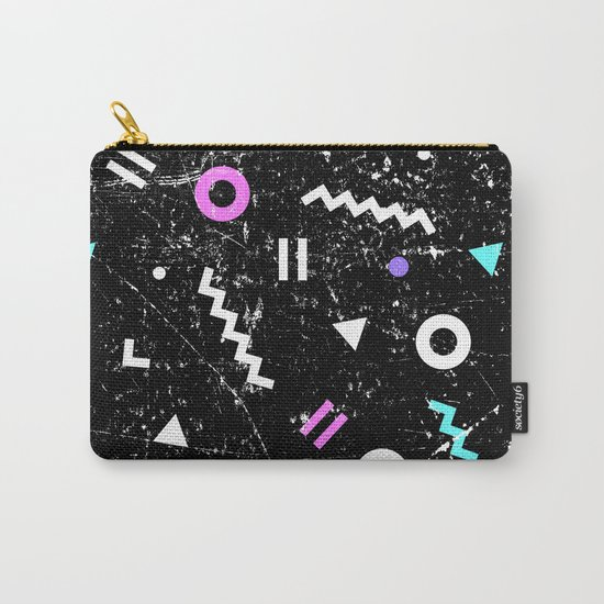 Memphis Grunge Carry-All Pouch