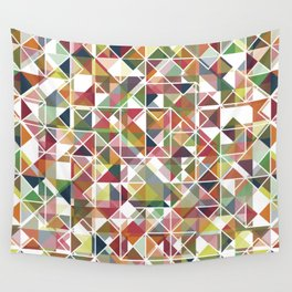 Chromatic Grid Wall Tapestry