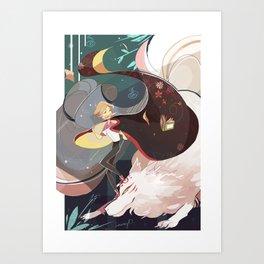 natsume yuujinchou Art Print