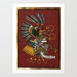 Feathered Gods Art Print