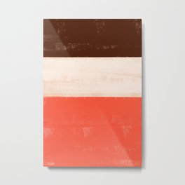 Neopolitan Colors Metal Print