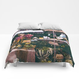 NYC Floral Shop Comforters