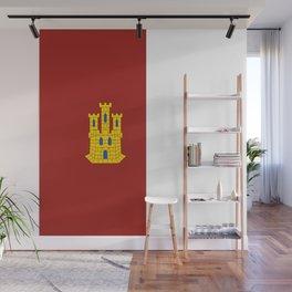 flag of castilla la mancha Wall Mural