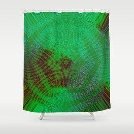 Greener Pattern 12 Shower Curtain
