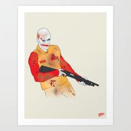 Ronnie I Art Print