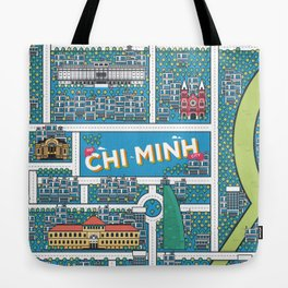 Ho Chi Minh City Tote Bag