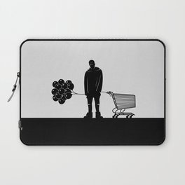 NF and His Shopping Cart Laptop Sleeve