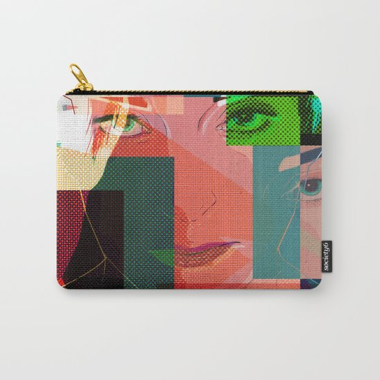 Eyes Pop art Carry-All Pouch