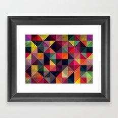 Colors Pattern Framed Art Print