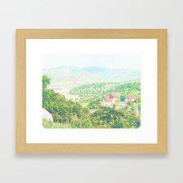 """""""Hidden City"""" Framed Art Print"""