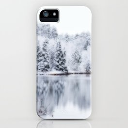 White Wonder Reflection iPhone Case