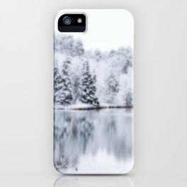White Wonder Reflection iPhone Case