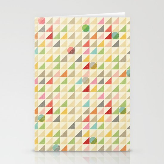 GEOMETRIC 002 Stationery Cards