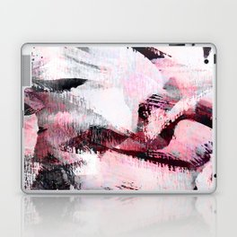 abstract painting with a little pink shade Laptop & iPad Skin