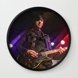 Ronny Moorings of Clan of Xymox Wall Clock