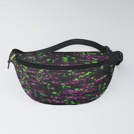 Pond -- Green and Pink Fanny Pack