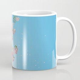 Cherry Blossoms Against the Blue Sky Coffee Mug