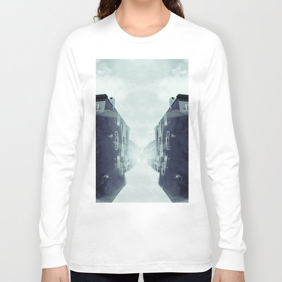 city in the sky Long Sleeve T-shirt