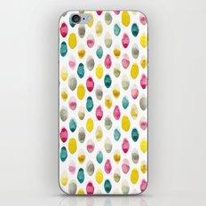 jewel drops iPhone & iPod Skin