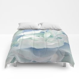 Peony in Blue White Comforters