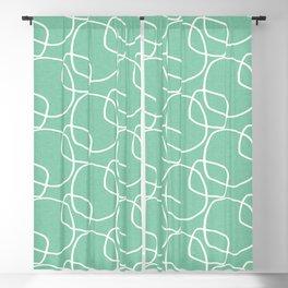 Bubble Pattern Mint #homedecor Blackout Curtain