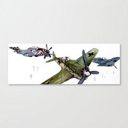 2nd. World War Planes Canvas Print