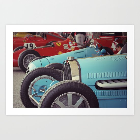 Million Dollar Carpark Art Print