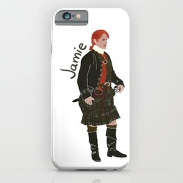 Jamie Fraser (Outlander) iPhone Case