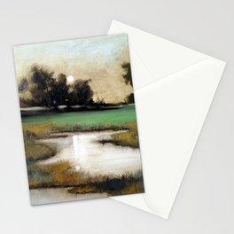 Marshland in Wilmington, North Carolina Stationery Cards