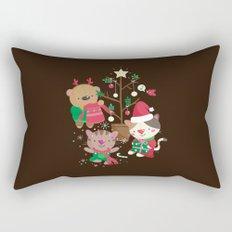 Holiday Crew Rectangular Pillow