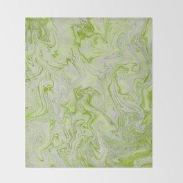 Marble Twist XII Throw Blanket