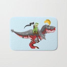 Dino Knight T-Rex II Bath Mat