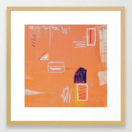 May to December Framed Art Print