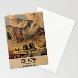 retro Ben Nevis Stationery Cards