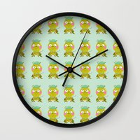 golf Wall Clocks featuring GOLF by Sucoco
