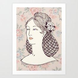 Lady II Art Print