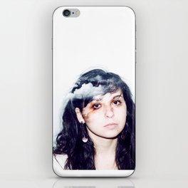 head in the clouds.  iPhone Skin