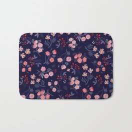 Night of the Roses Bath Mat