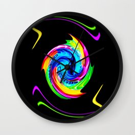 Abstract perfection -100 Wall Clock