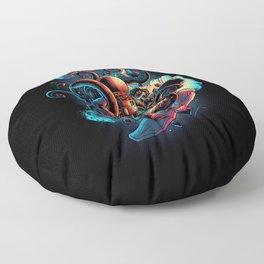 Lost in Space Floor Pillow