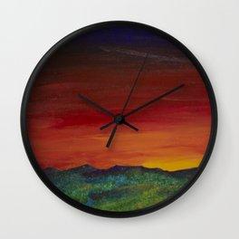 Light Falling Wall Clock