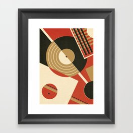 Bauhausmusic - Part II Framed Art Print