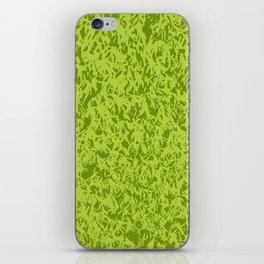 Green moss iPhone Skin