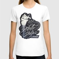 "ships T-shirts featuring ""The White Ships Lounge"" by XRAY"