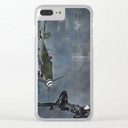 Raubvogel Clear iPhone Case