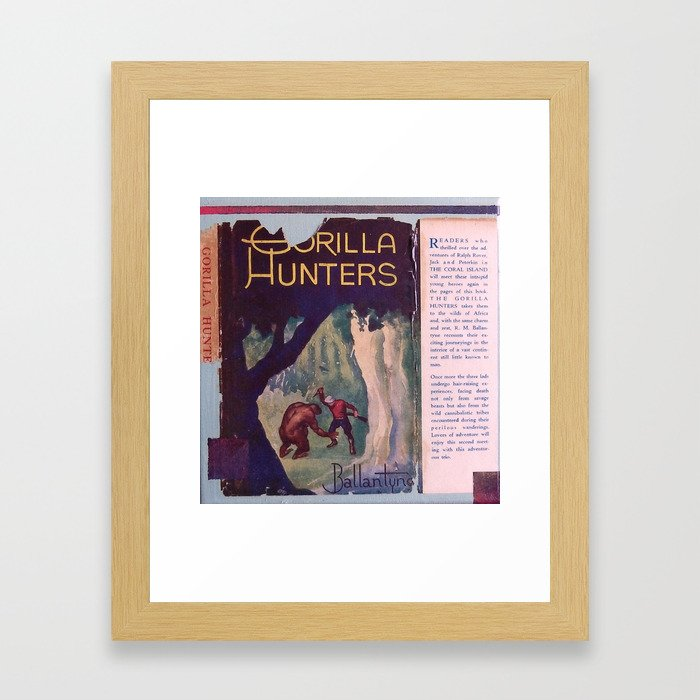 Gorilla Hunters Framed Art Print