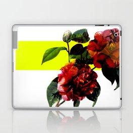 Vintage Blooms /Neon Block Laptop & iPad Skin