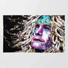 Robert Plant Watching the Stars - Rock Star Collection. Rug