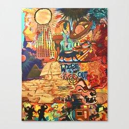 Stolen Goods Canvas Print
