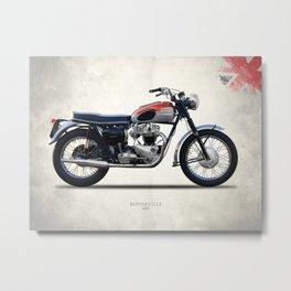 Bonneville T120 1962 Metal Print